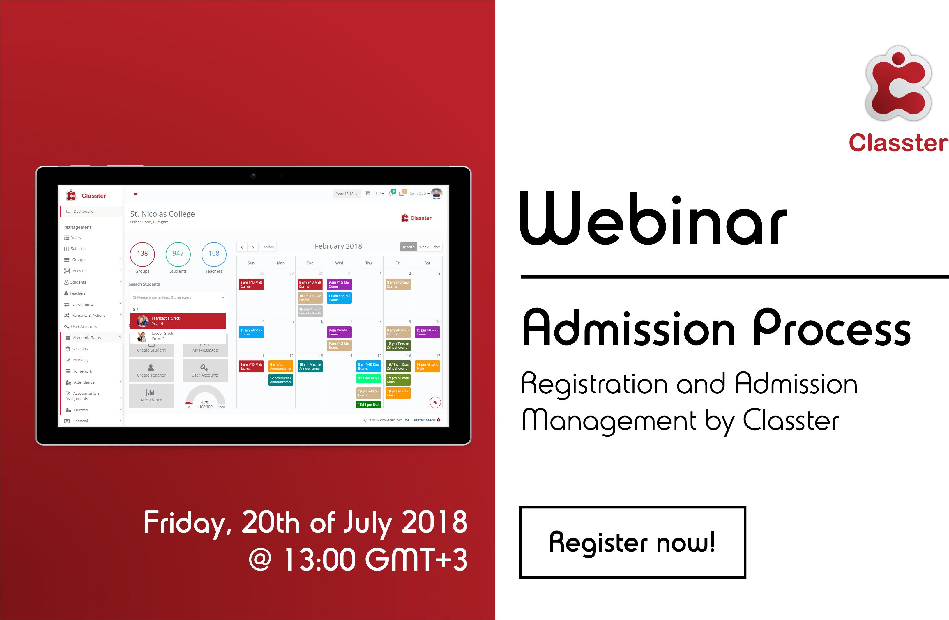 classter webinar admission process2